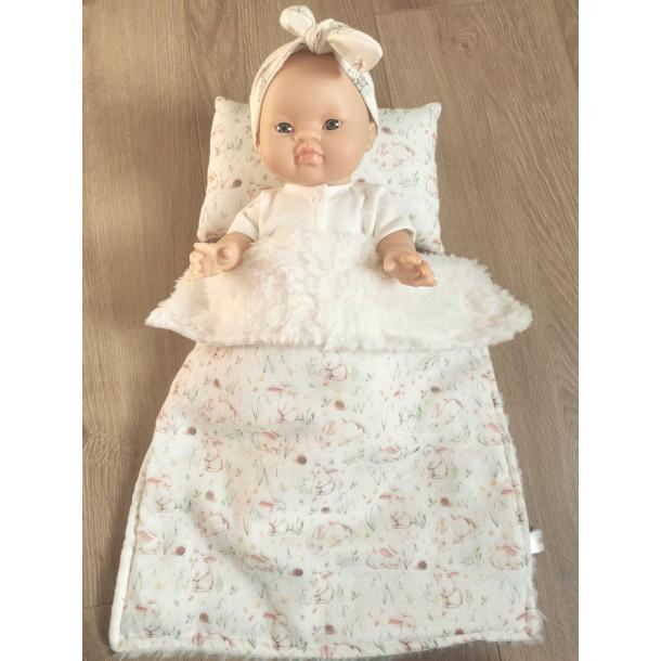Linge de lit pour poupée