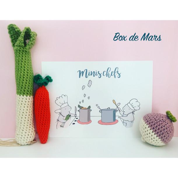 """Box de Mars 2019 """"à table"""""""